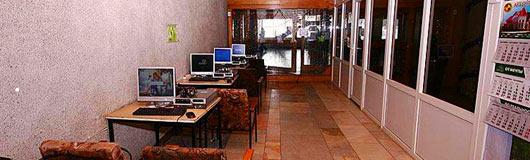 интернет в домбае, отель Горные Вершины