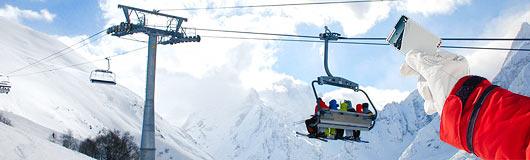 ски-пассы, домбай