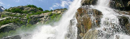Софруджинские водопады