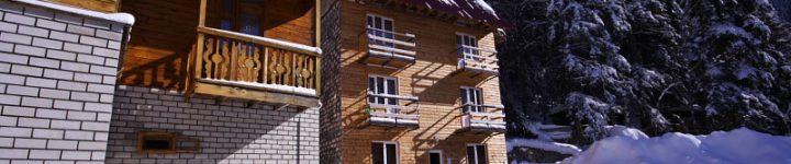 Корпус №1 (2-х этажный), гостиница Таулу Домбай