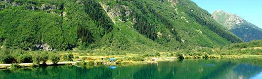\озеро Туманлы-Кель форелевое