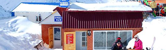 кафе «Снежинка», 5-я очередь ККД, Домбай
